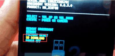 Cara Flash Asus Zenfone 4 T001 Kitkat