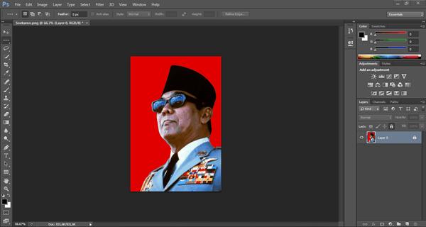 Cara Mengganti Warna Background Foto Dengan Photoshop