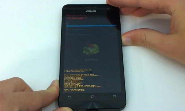 Cara Flash Asus Zenfone 5 Bootloop