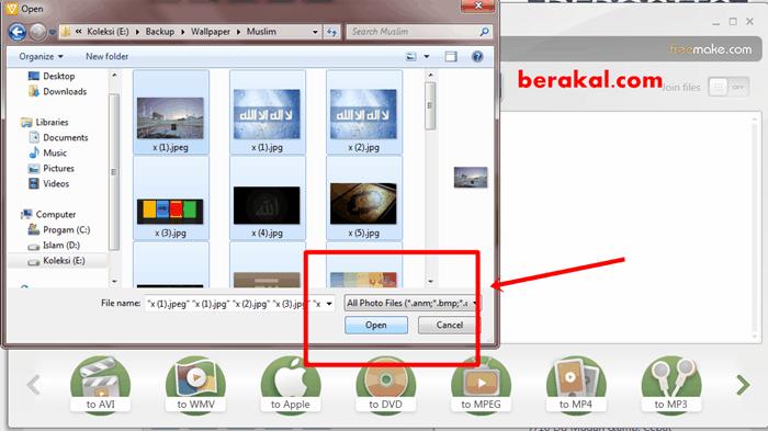 aplikasi membuat foto menjadi video di laptop