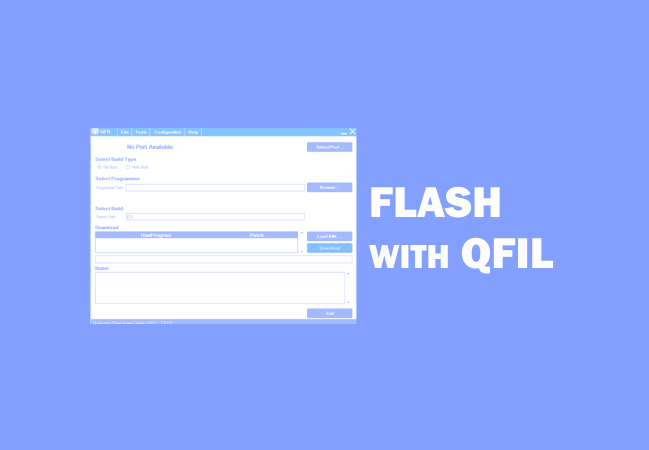 Cara Flash Menggunakan QFIL