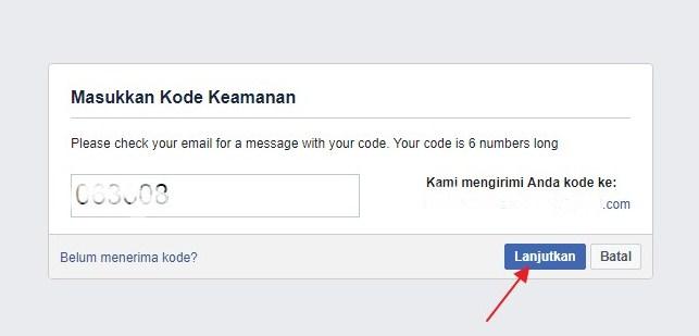 lupa kata sandi facebook lite