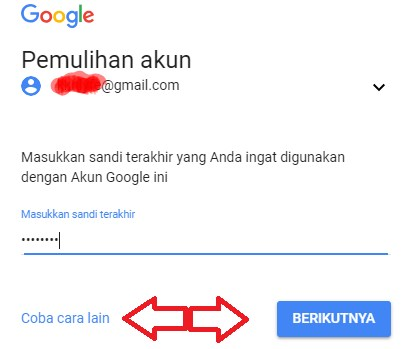 2018 Lupa Password Gmail Android Reset Password Aja