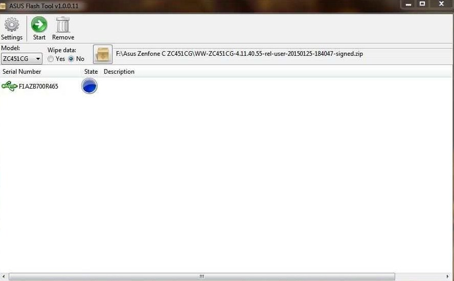 3 Cara Flash Asus Zenfone C Via Sd Card Flashtool Tanpa Pc