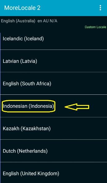 cara menambah bahasa indonesia di android tanpa root