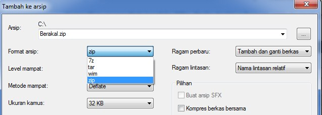memberi password pada folder di pc