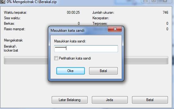 cara mengunci folder di windows 8