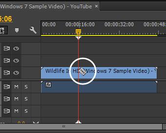 cara memotong video di after effect