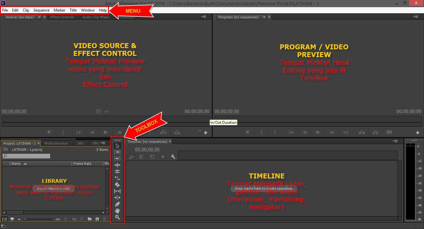 Cara edit video di laptop