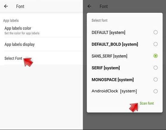 cara ganti font android advan tanpa root