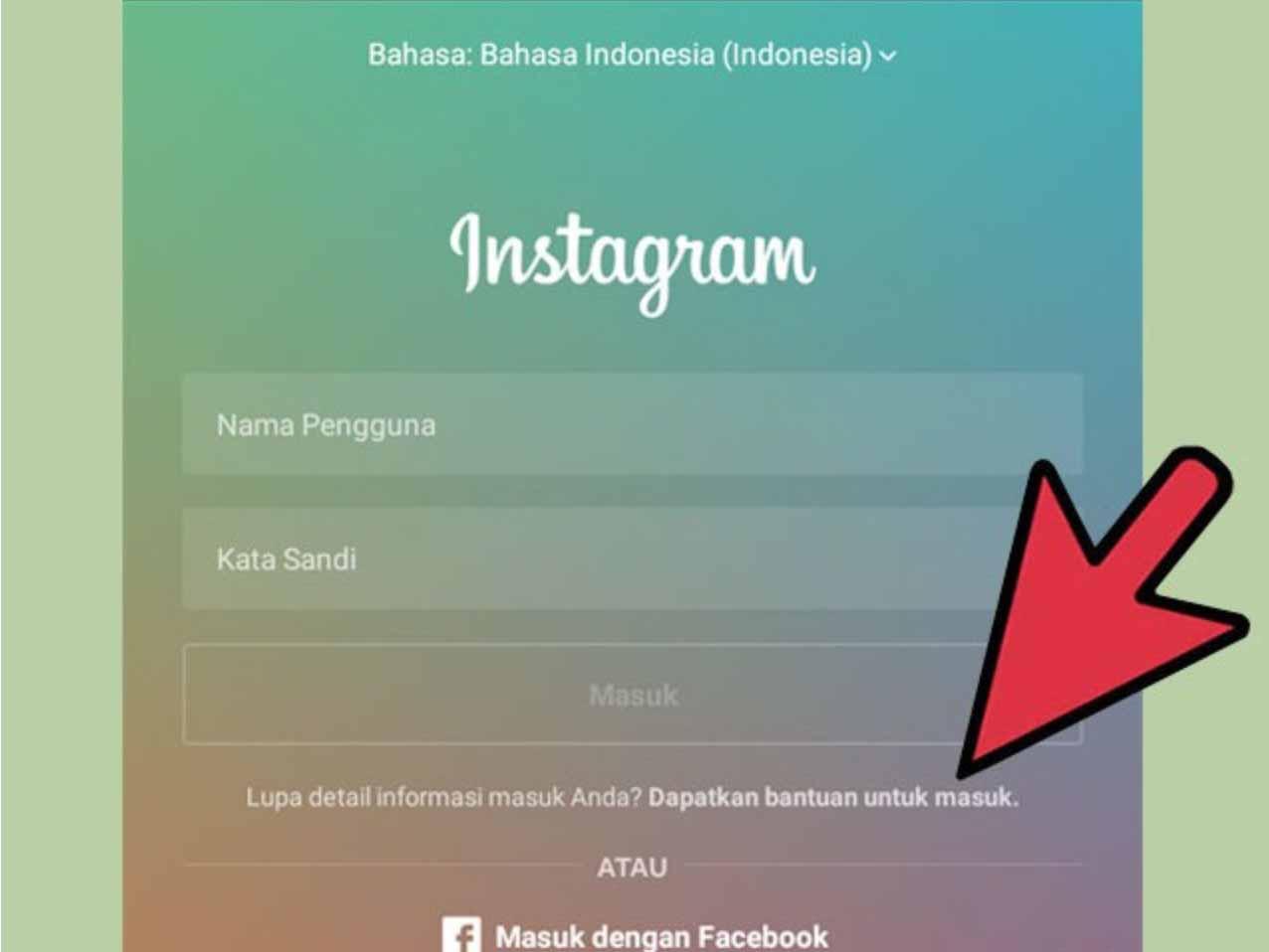 cara memperbaiki instagram yang error
