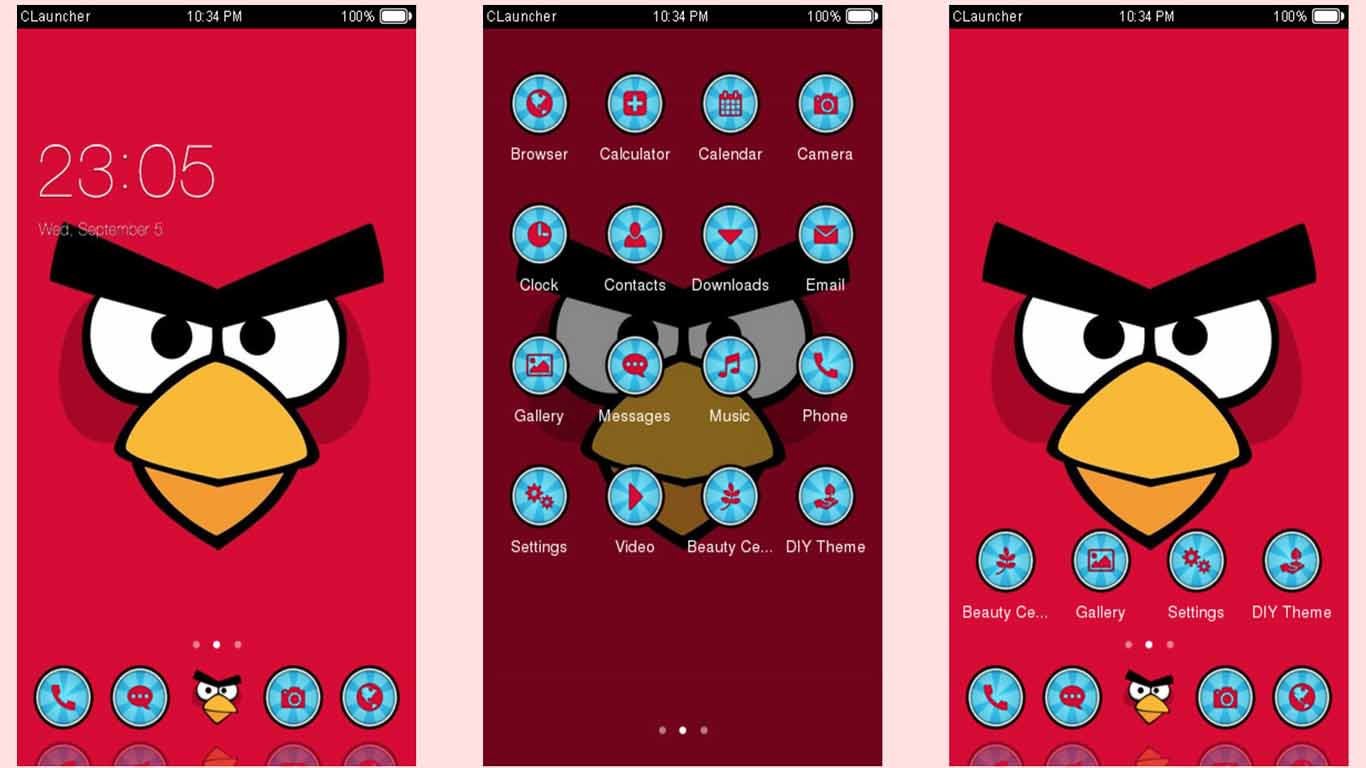 tema android angry birds