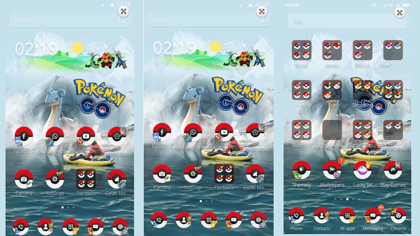 tema android pokemon