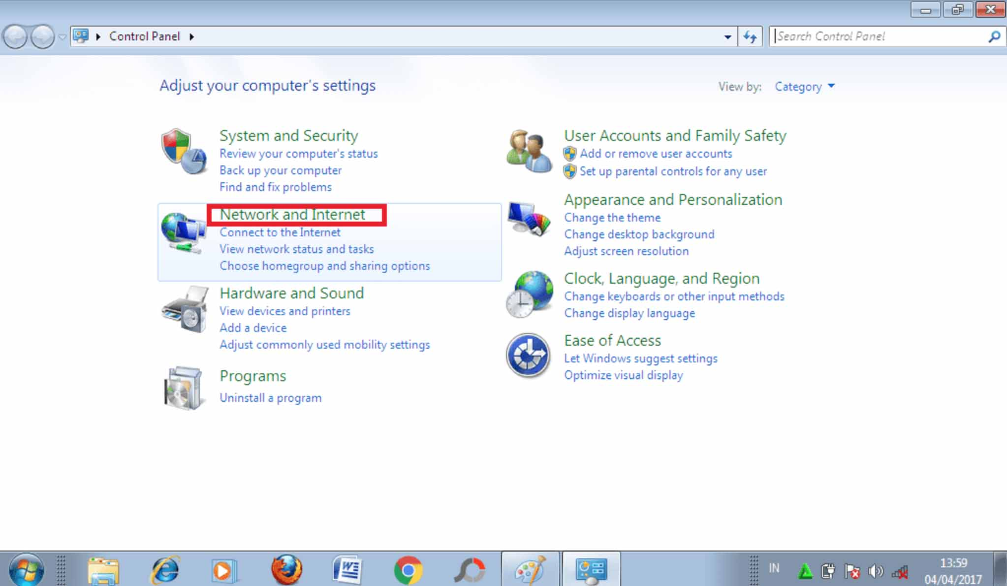 cara mengetahui password wifi di laptop windows 7