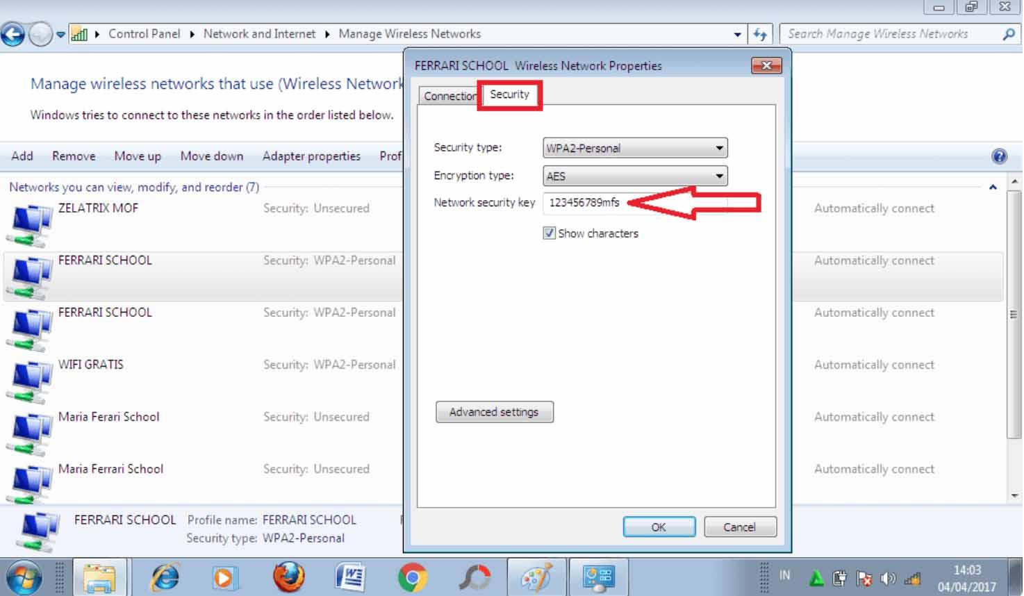 cara mengetahui password wifi di laptop yang pernah terkoneksi