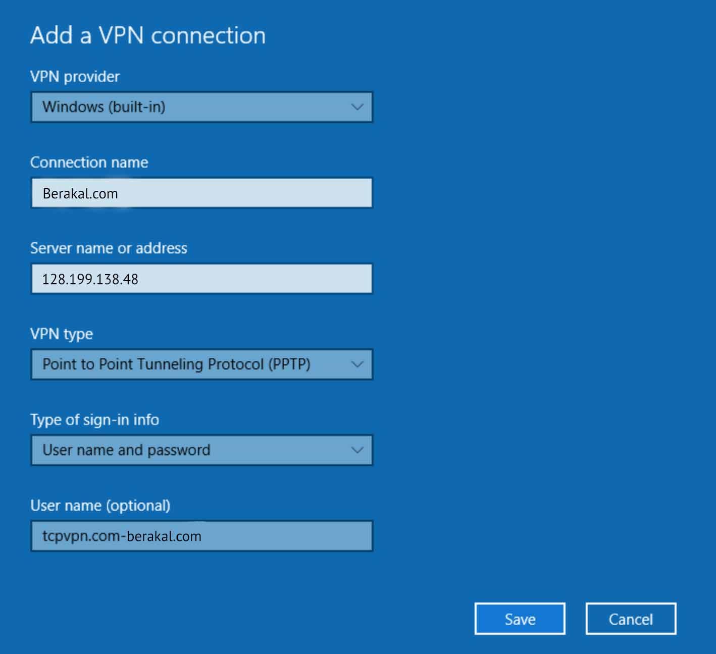 cara menggunakan vpn di pc tanpa software