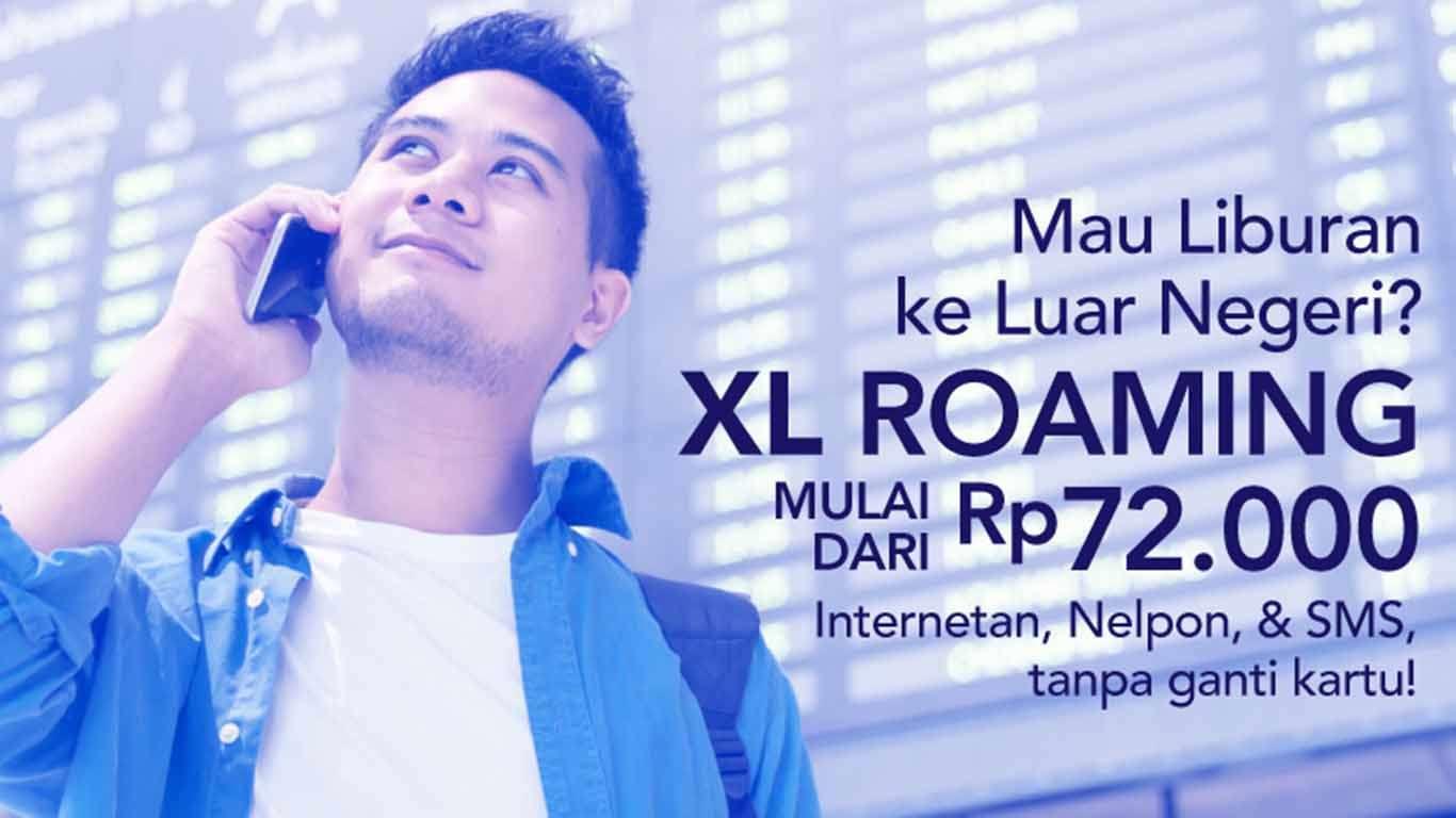 Cara Mengaktifkan Roaming XL
