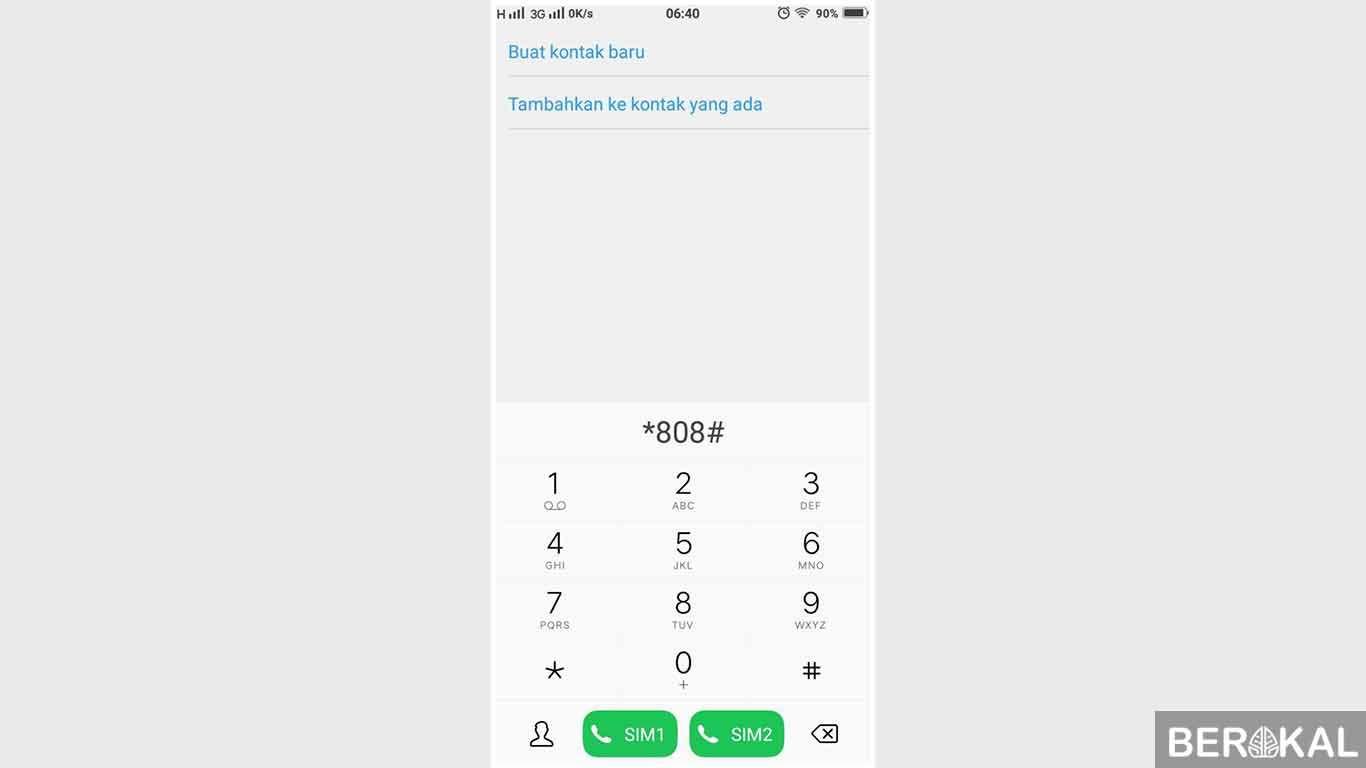 cara cek nomor hp sendiri telkomsel
