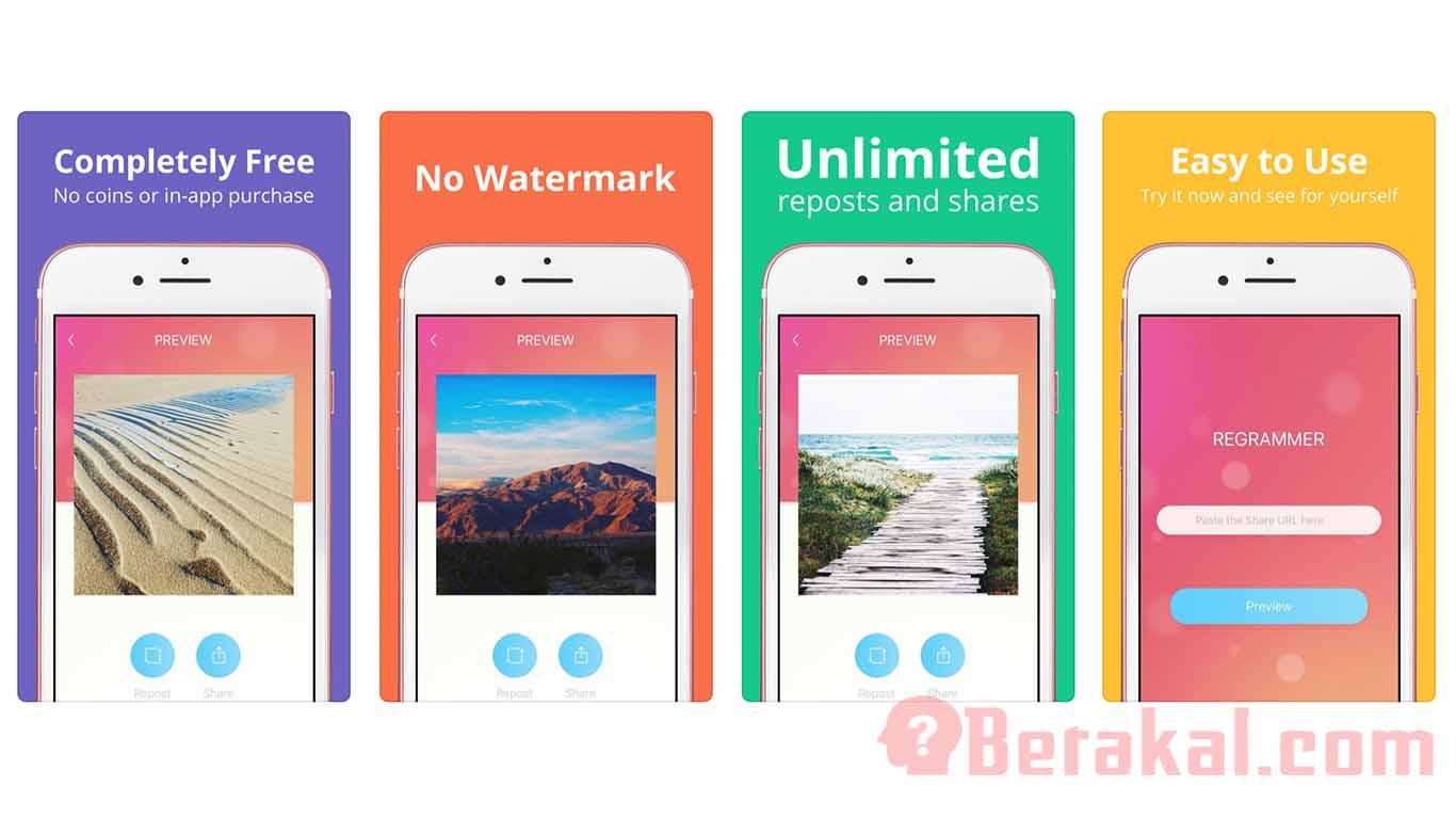 cara menyimpan video dari instagram dengan aplikasi IOS