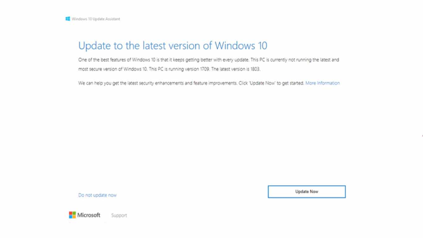 cara update windows 10 manual