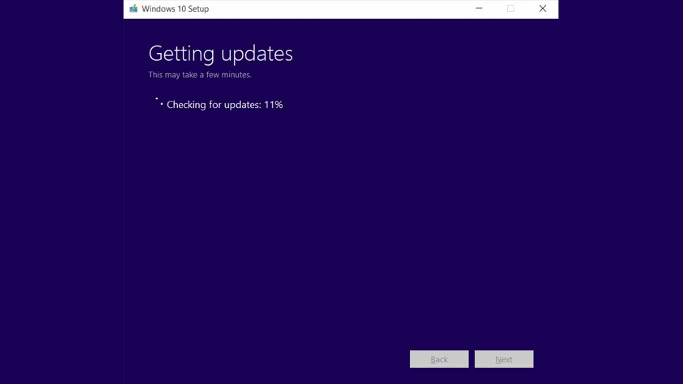 cara update windows 10 online