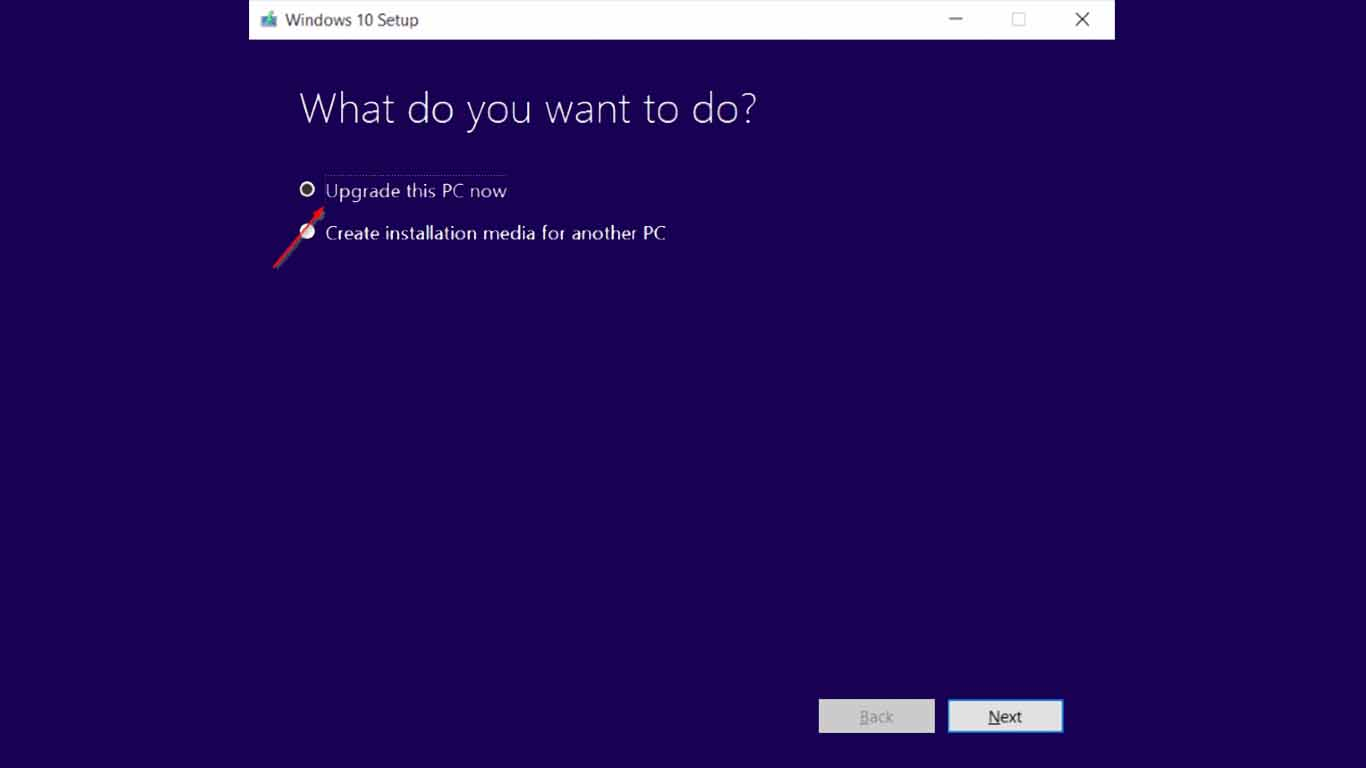 cara update windows 10 pro