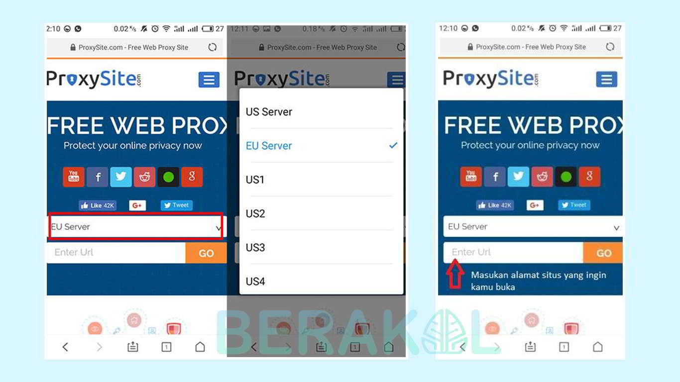 Cara Membuka Situs yang diblokir online