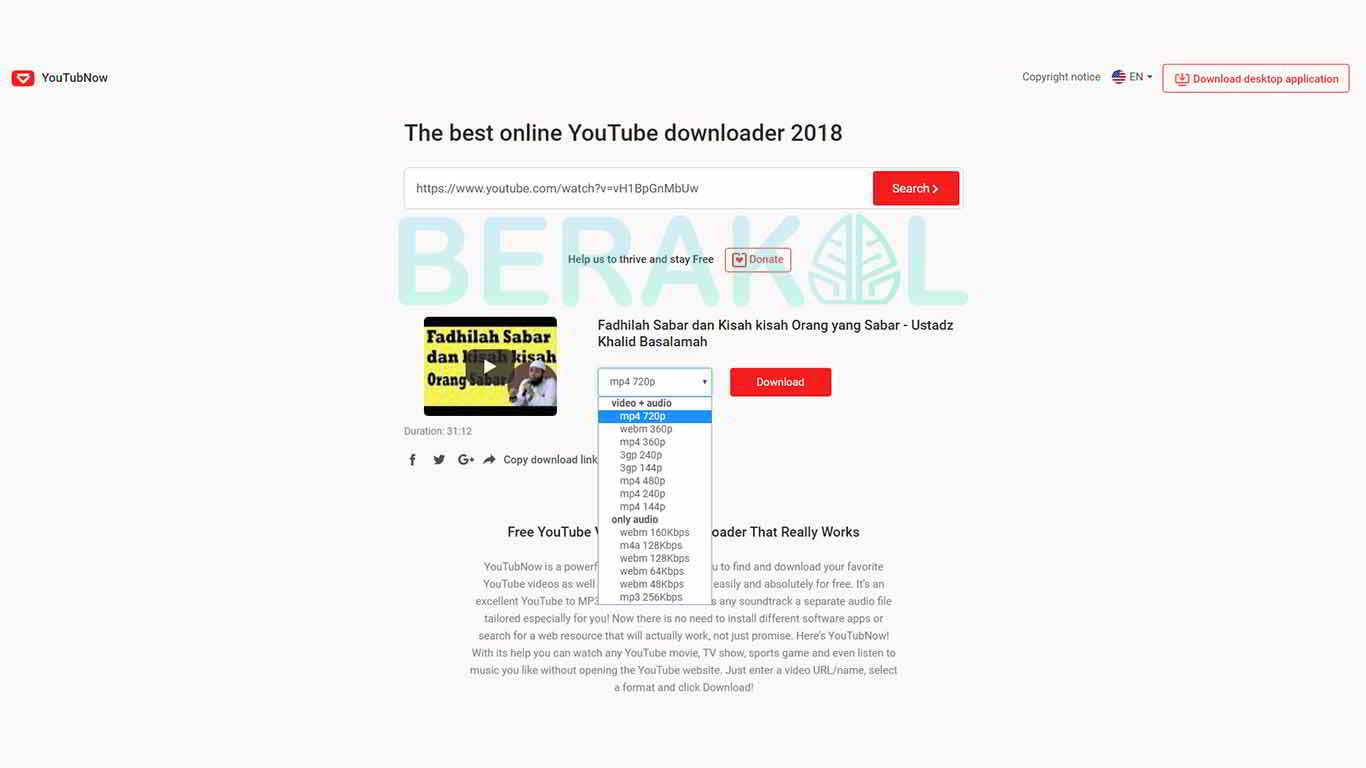 cara download video di youtube lewat hp tanpa aplikasi
