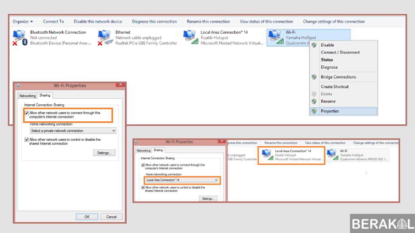 √ 4 Cara Membuat Hotspot di Laptop Windows 7, 8, 10