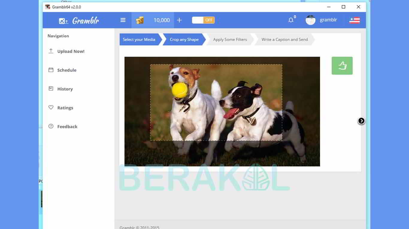 cara upload foto di instagram lewat pc windows