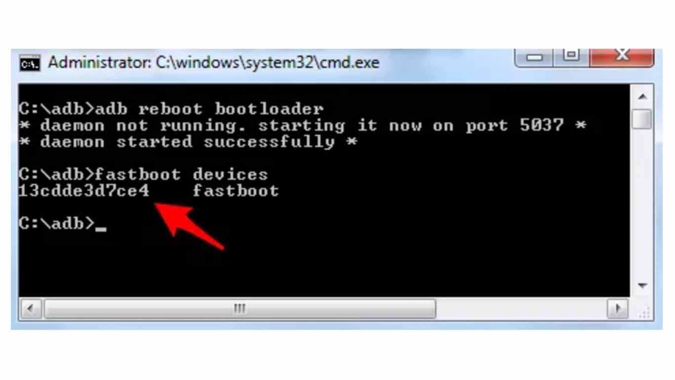 error fastboot xiaomi