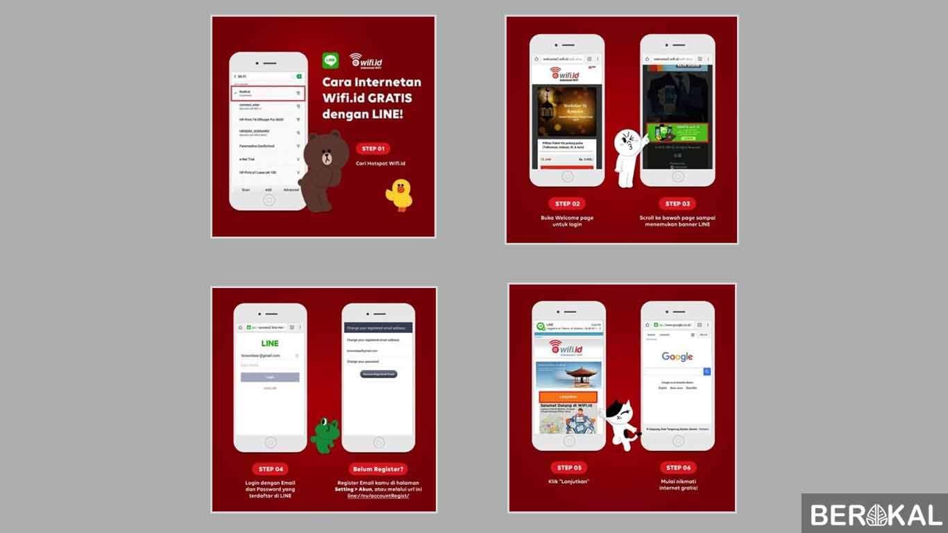 cara membuat akun wifi id gratis di android