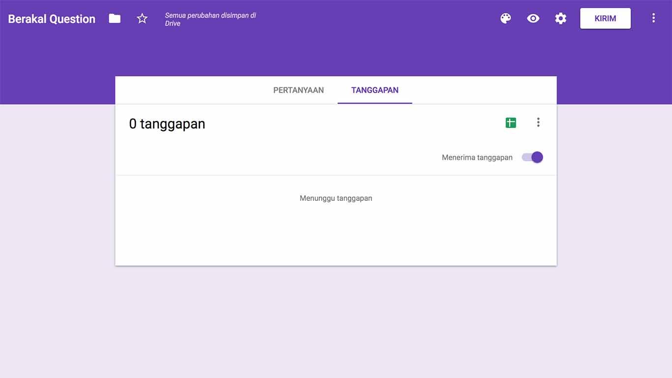 cara membuat google form di google drive