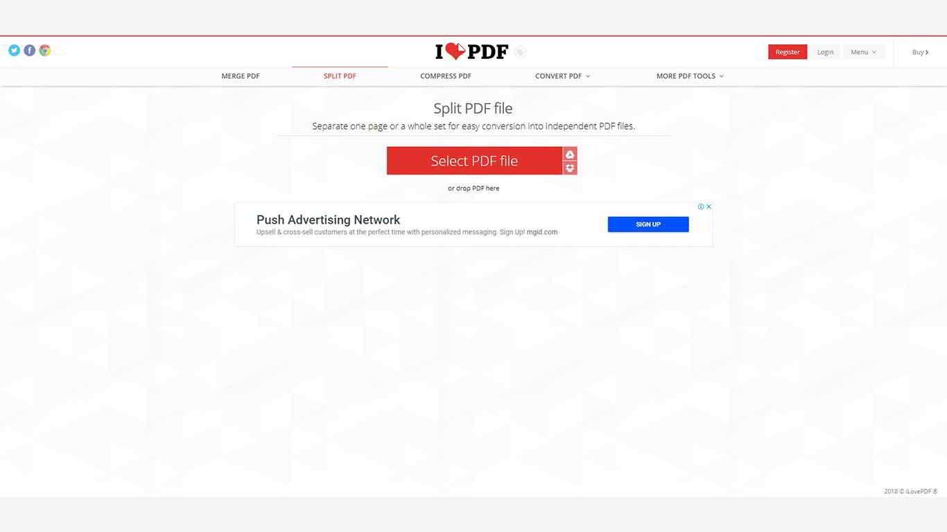 cara memisahkan file pdf di komputer