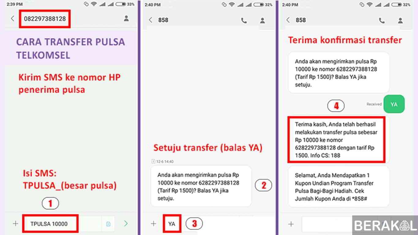 minimal transfer pulsa telkomsel