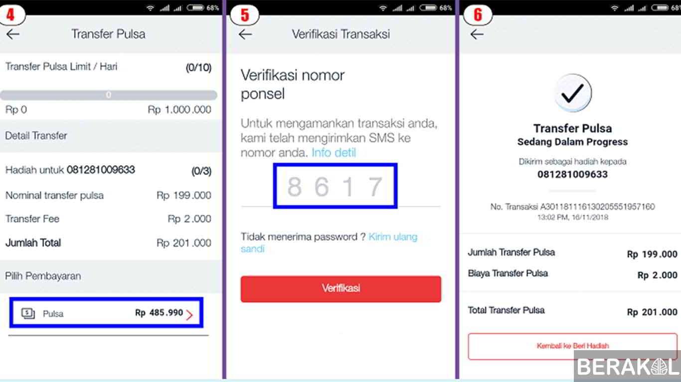 3 Cara Transfer Pulsa Telkomsel Untuk Pemula 2020
