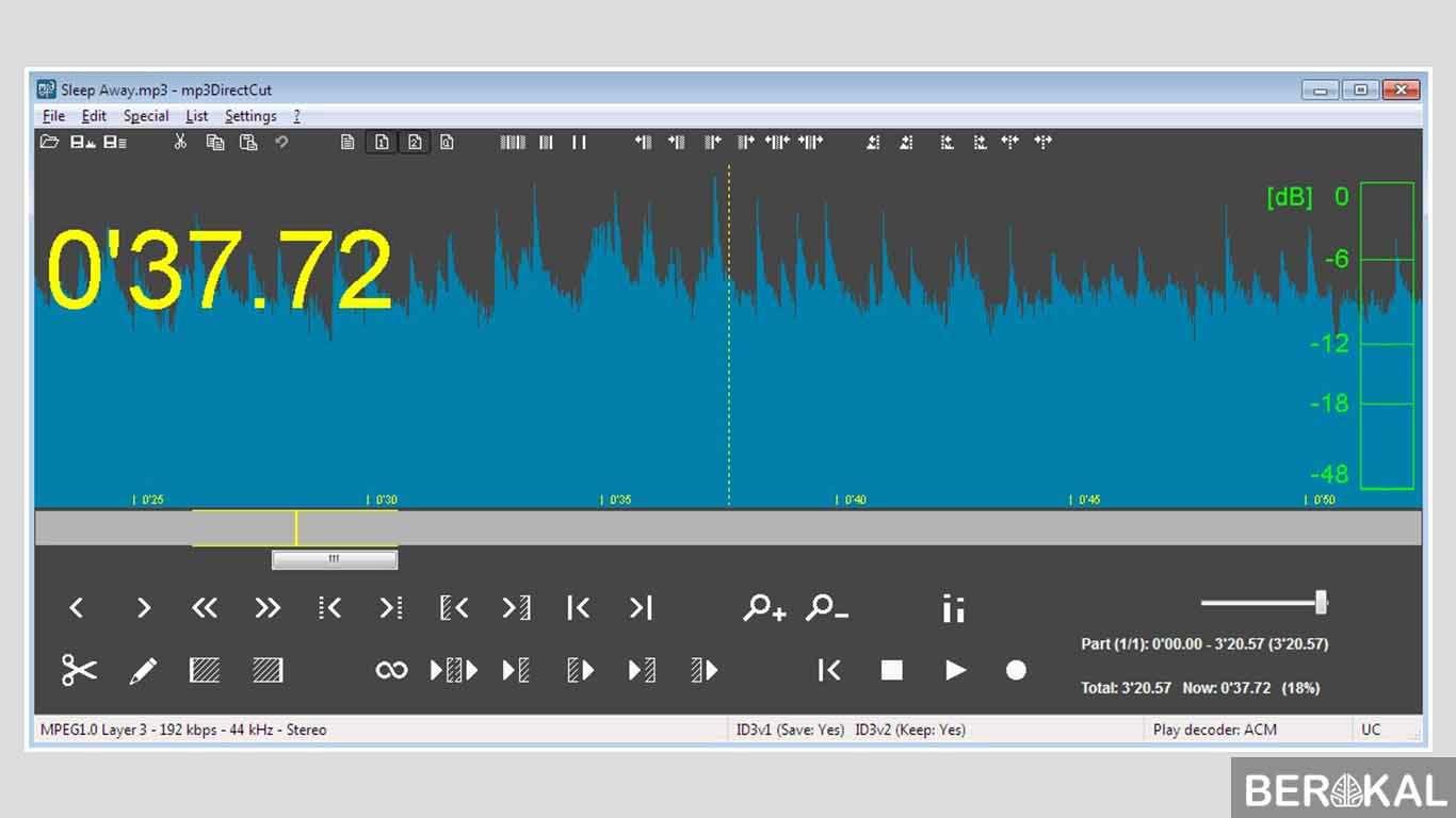 aplikasi pemotong lagu dan penyambung lagu