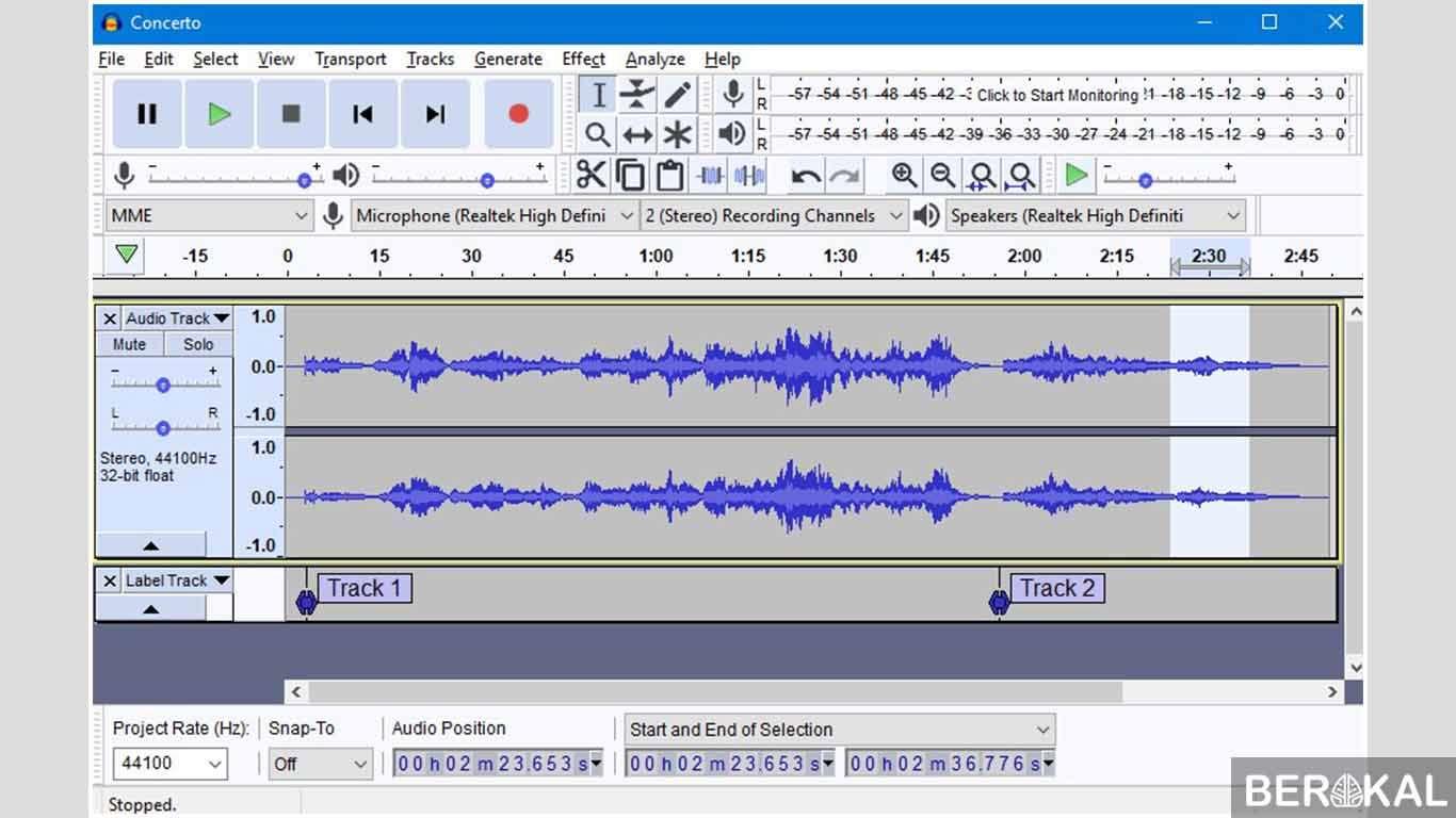 aplikasi pemotong lagu untuk laptop