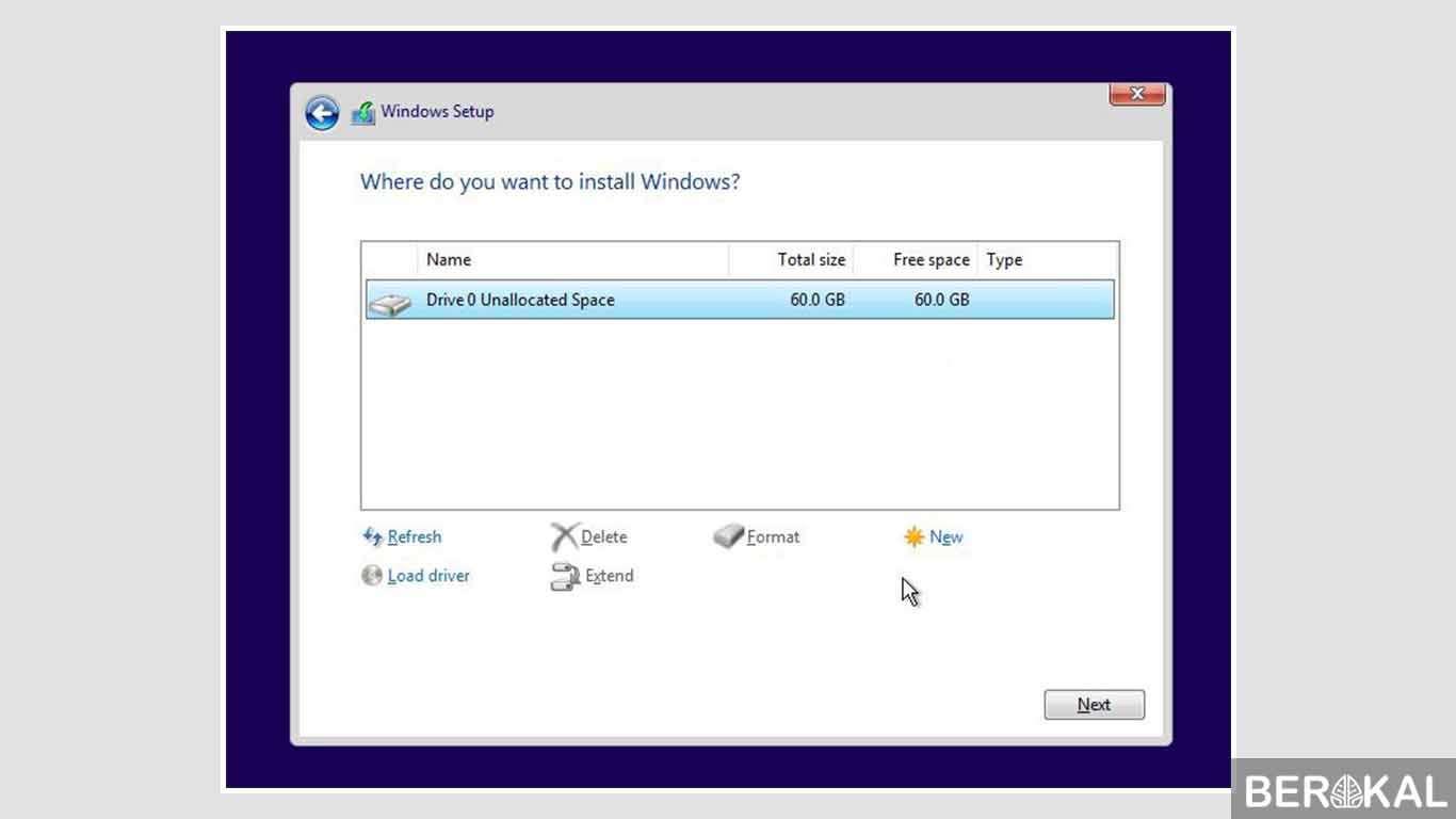 cara instal ulang windows 10 dengan flashdisk