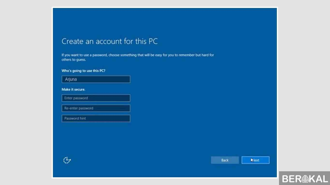 cara instal ulang windows 10 terbaru