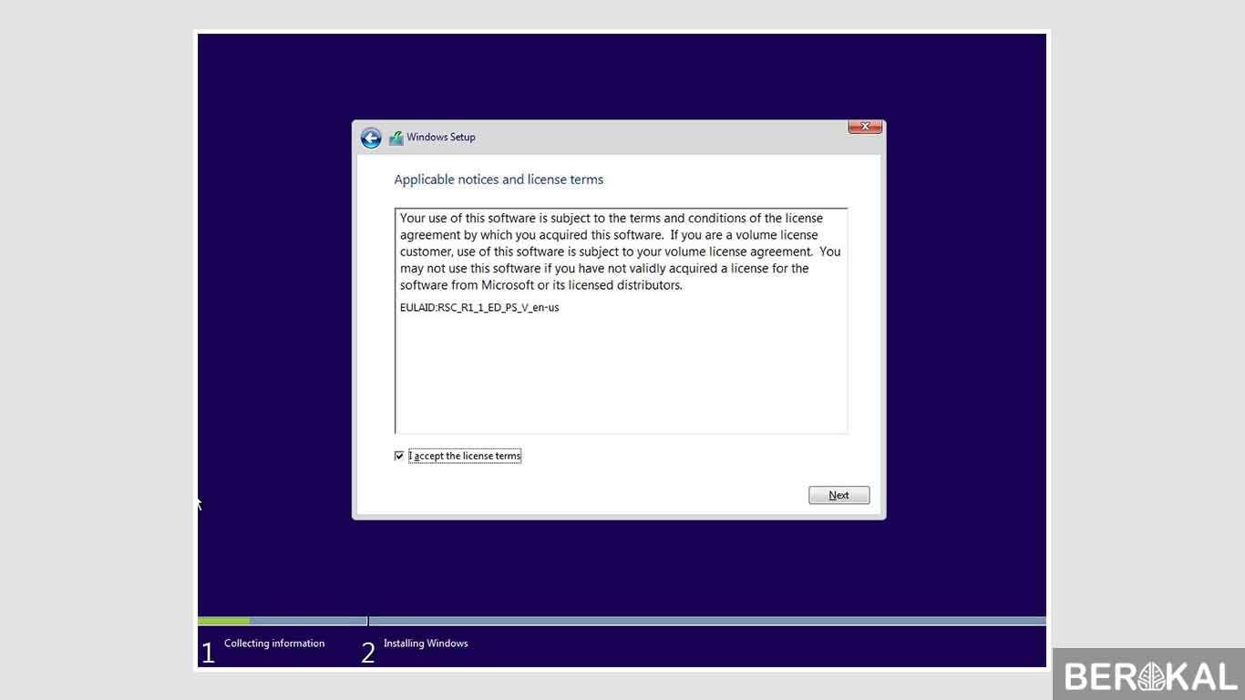 cara instal windows 10 dengan flashdisk di laptop asus