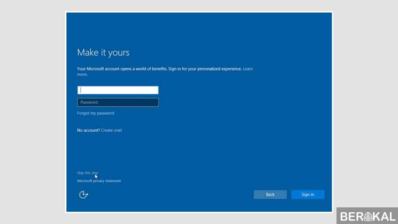 cara instal windows 10 terbaru