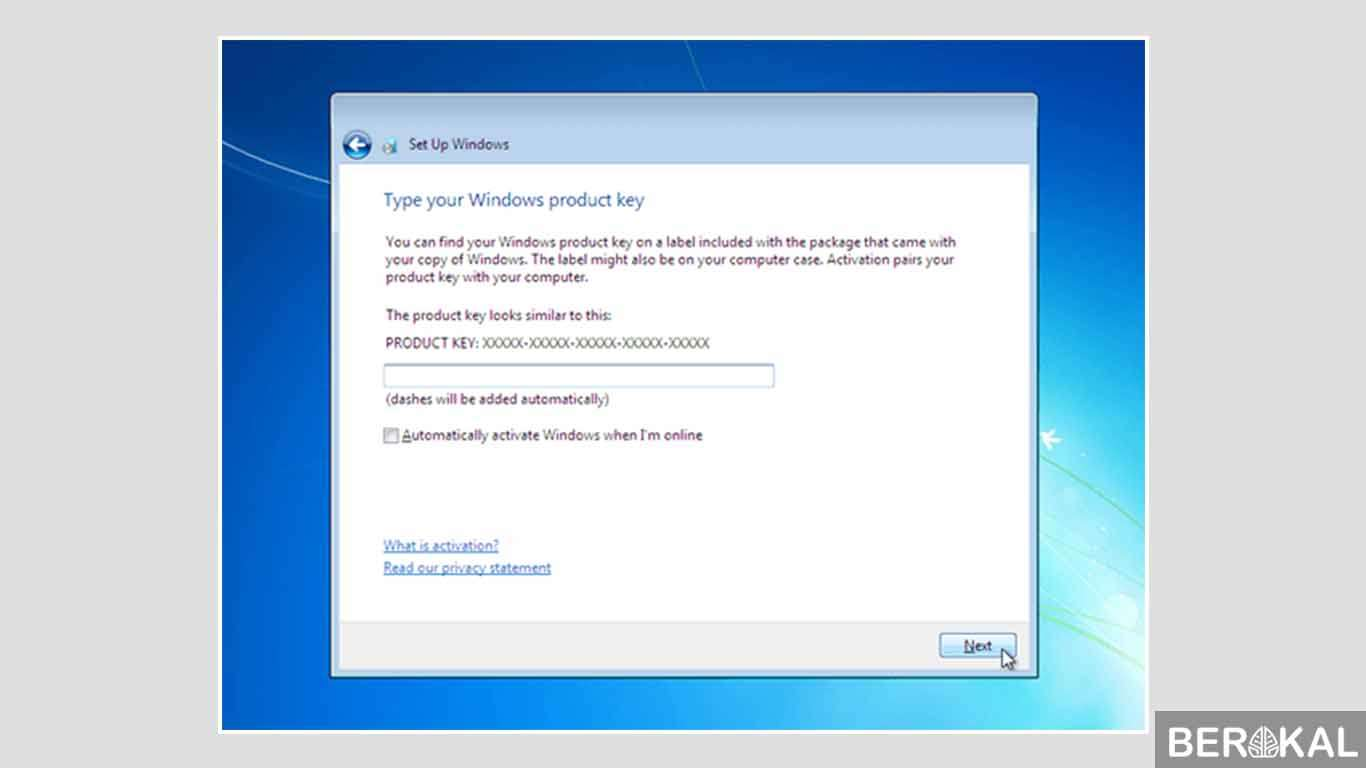 cara instal windows 7 di flashdisk