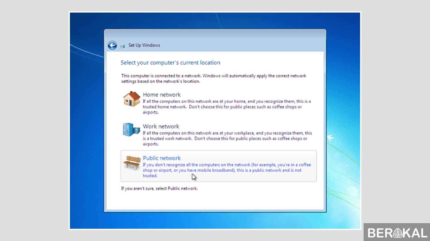 cara install ulang windows 7 dengan cd