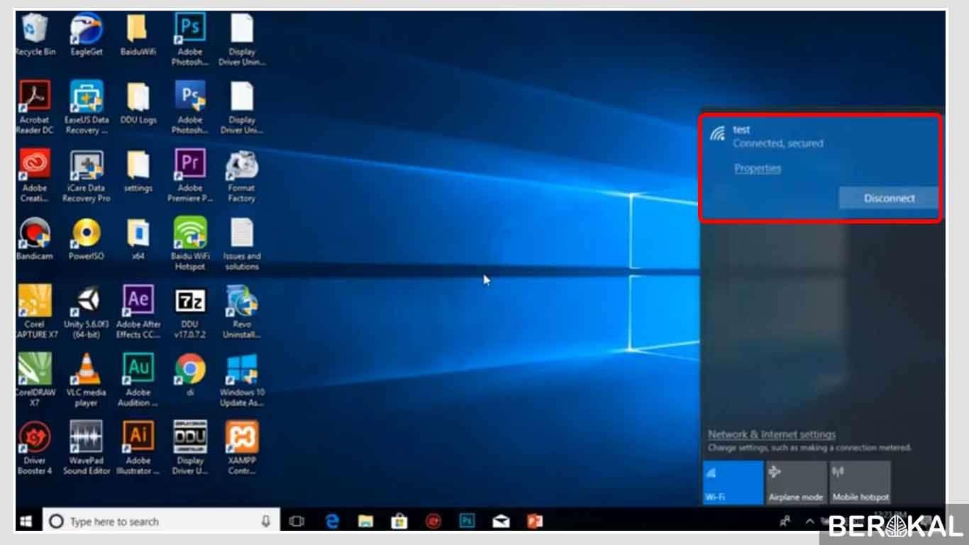cara melihat password wifi di windows 10 menggunakan cmd