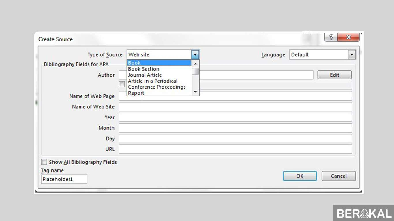 cara membuat daftar pustaka di word dari jurnal
