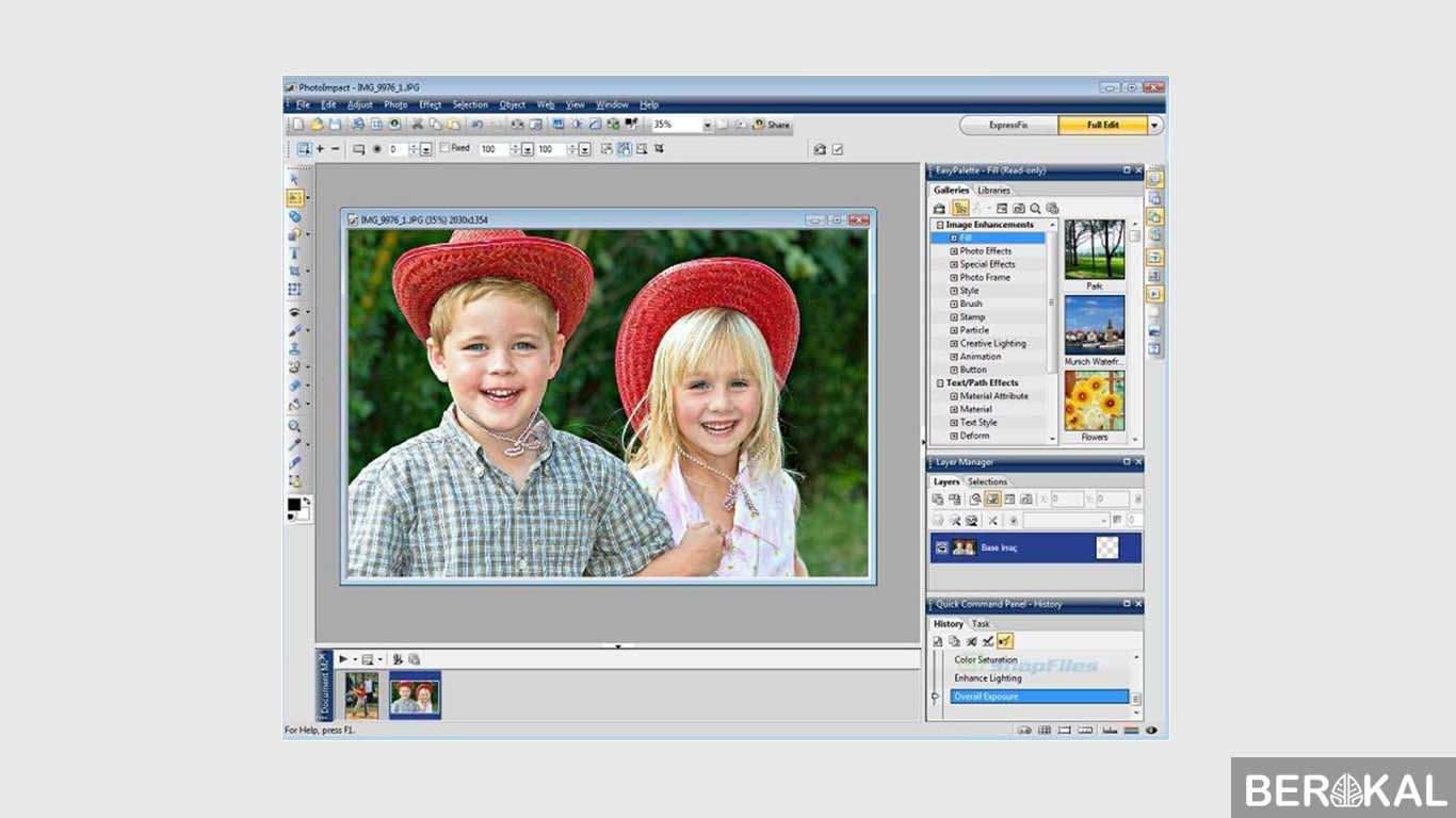 Software cetak foto berbagai ukuran dalam satu lembar