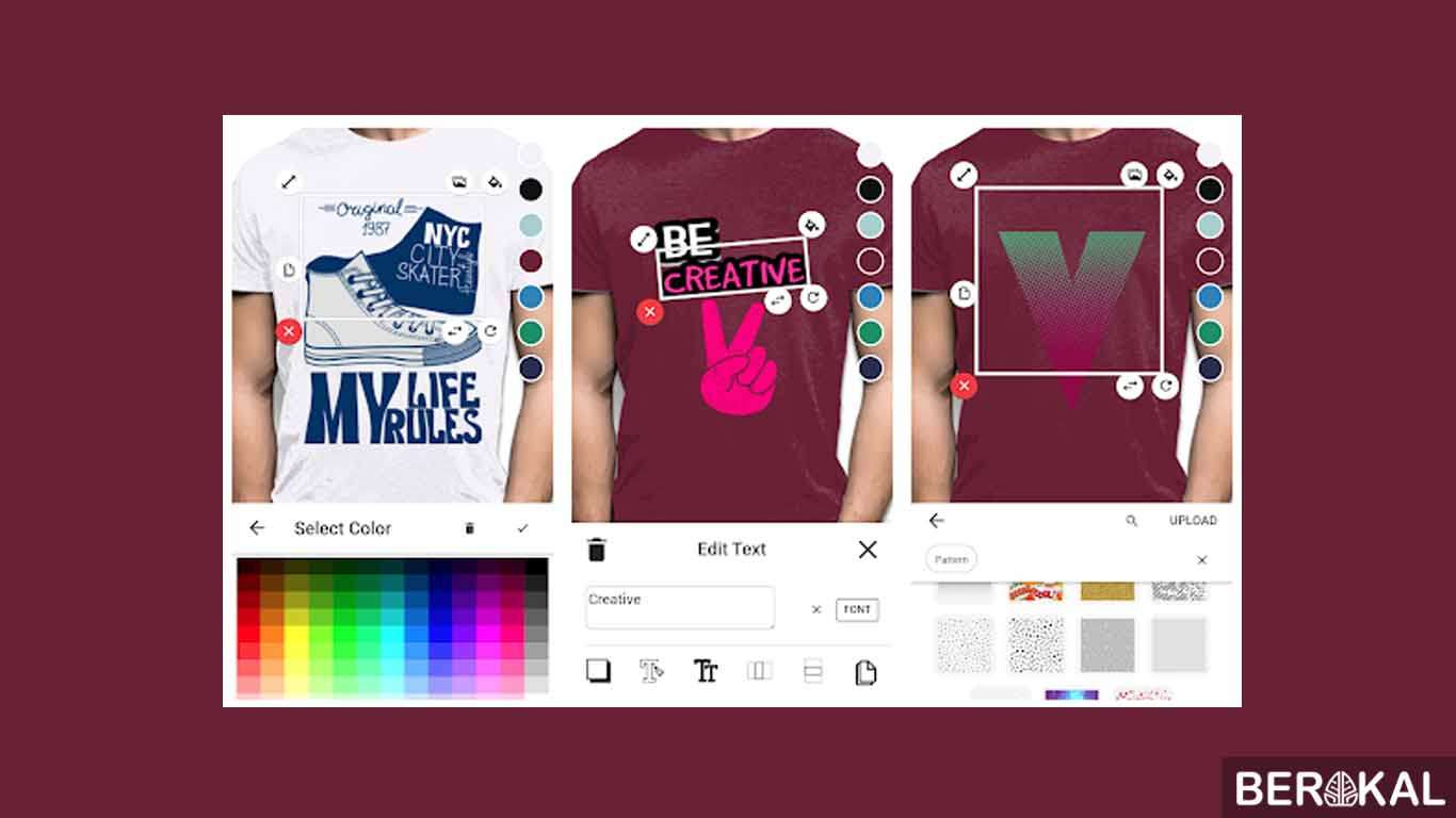 aplikasi desain baju futsal android