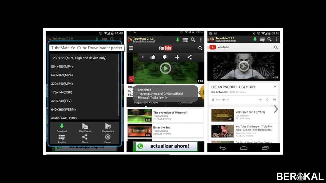 √ 12+ Aplikasi Download Lagu dan Video Super Cepat [Android]