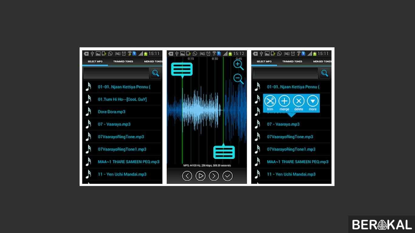 aplikasi edit cover lagu android